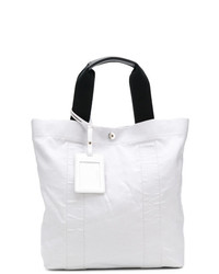 Maison Margiela Crease Effect Canvas Tote
