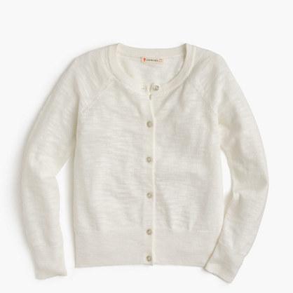 2f714f42e711f J.Crew Girls Caroline Cardigan Sweater, £31   J.Crew   Lookastic UK