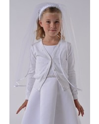 Us Angels Girls Communion Pointelle Cardigan