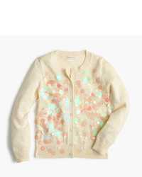 J.Crew Girls Iridescent Bubble Cardigan