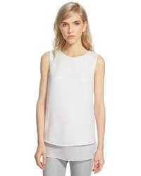 Textured sleeveless top medium 305940