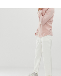 ASOS DESIGN Tall Relaxed Fatigue Trousers In White