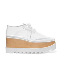 Stella McCartney Elyse Pu And Faux Leather Platform Brogues