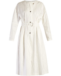 Isabel Marant Ivo Collarless Linen Coat
