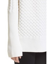 Ayr Le Square Merino Wool Cowl Neck Sweater
