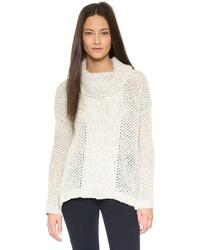 BB Dakota Jack By Samewell Cable Knit Sweater