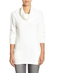 Chaus Marilyn Cowl Neck Two Pocket Sweater