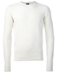 White crew neck sweater original 402084