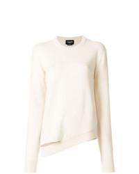Calvin Klein 205W39nyc Asymmetric Hem Knitted Jumper