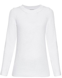 Sonia Rykiel Chunky Knit Back Overlay Sweater