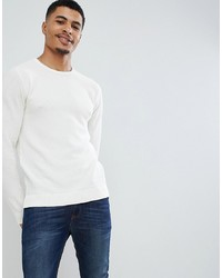 Jack & Jones Essentials Crew Neck Jumper In Texture