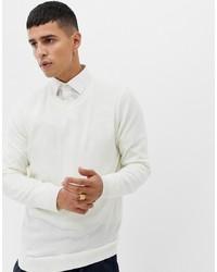 ASOS DESIGN Jumper In White