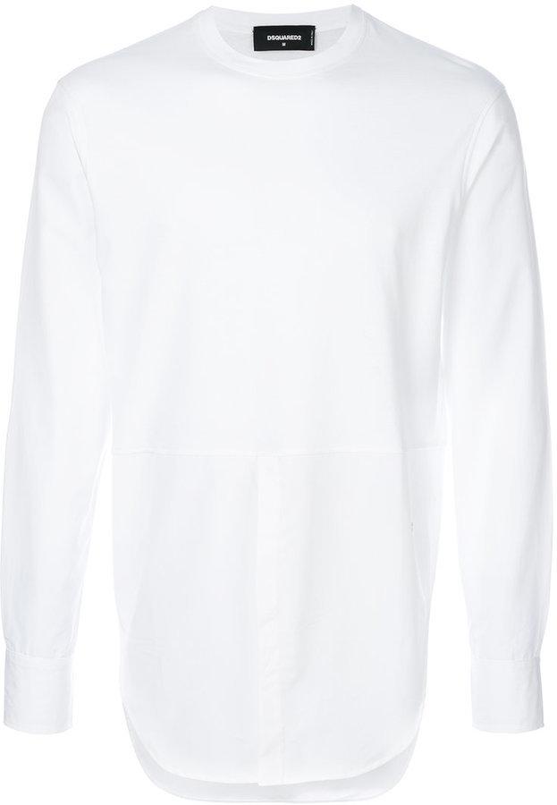 DSQUARED2 Shirt Detail Top