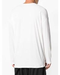 Isabel Benenato Slant Pocket Sweater