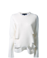 Proenza Schouler Slashed Lightweight Jumper