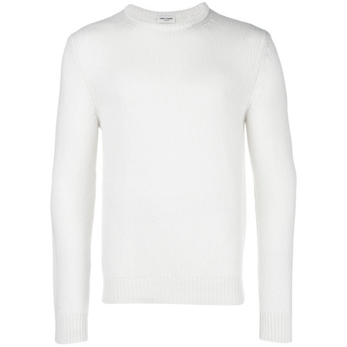 Saint Laurent Slim Fit Crewneck Sweater