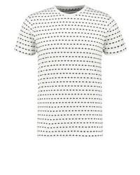 Soulland Fernell Print T Shirt Whiteblack