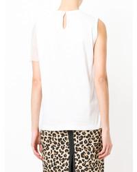 N°21 N21 Asymmetric Sleeve T Shirt