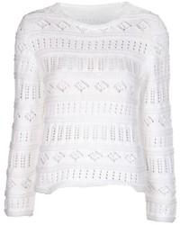 Lucien pellat finet crochet peace sweater medium 133413