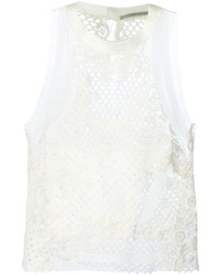 Crochet lace top medium 230597