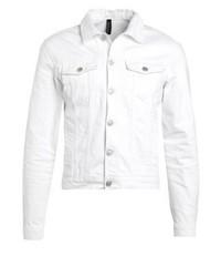 Denim jacket white medium 3831612