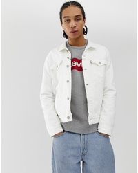Levi's The Denim Trucker Jacket In White Out