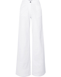 Vanessa Bruno Jay High Rise Wide Leg Jeans