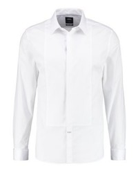 Burton Menswear London Bib Slim Fit Formal Shirt White