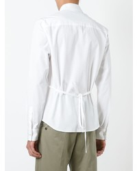 Chalayan Button Belt Shirt