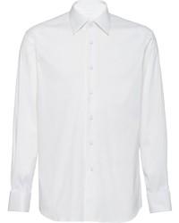 Prada Long Sleeve Tuxedo Shirt