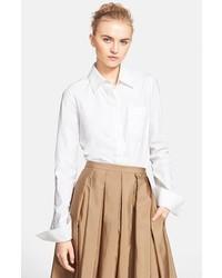 Michael Kors Michl Kors Stretch Cotton Poplin Shirt