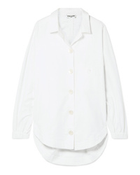 Opening Ceremony Oversized Brushed Cotton Poplin Shirt