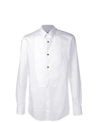 Dolce & Gabbana Pleated Bib Shirt