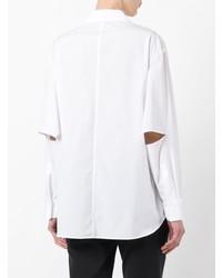 Yohji Yamamoto Pocket Detail Slim Fit Shirt