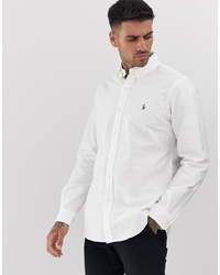 Polo Ralph Lauren Regular Fit Oxford Shirt In White