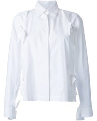 Roberts Wood Bow Detail Split Shirt
