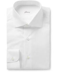 Brioni White Cotton Shirt