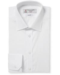 Turnbull & Asser White Cotton Shirt