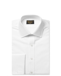 Emma Willis White Double Cuff Cotton Shirt