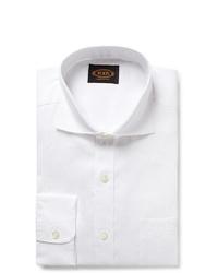 Tod's White Linen Shirt