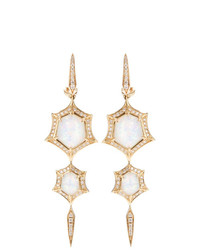 Stephen Webster Crystal Haze Quartz And Diamond Drop Earrings