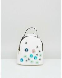 Asos Mini Embellished Backpack
