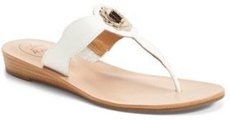 62c496ee9ab5 ... Jack Rogers Larissa Leather Thong Sandal ...