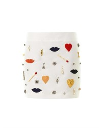 Stella McCartney Surrealist Embellished Mini Skirt