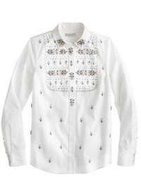 J.Crew Collection Thomas Mason For Embellished Shirt