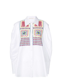 Miahatami Embroidered Oversized Shirt