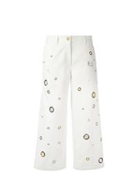 Kenzo Eyelet Cropped Jeans