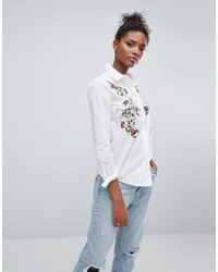 Embroidered front shirt medium 6747885