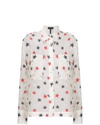 Rag & Bone Star Embroidered Shirt