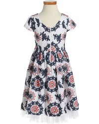 Ruby & Bloom Freida Embroidered Dress
